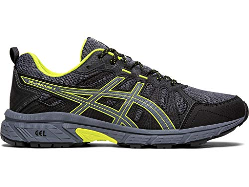 ASICS Men's Gel-Venture 7 Running Shoes, 10M, Metropolis/Safety Yellow