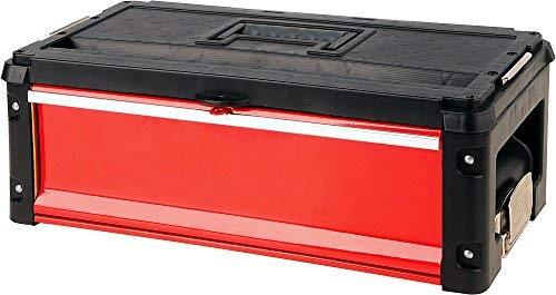 Yato YT-09108 Werkzeugkasten, Schwarz/Rot