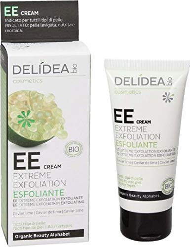 Delidea EE Cream Extreme Exfoliation Esfoliante Caviar Lime Tutti i Tipi di Pelle