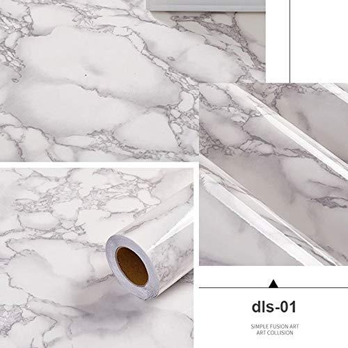yuandp behang zelfklevend huis keuken oliebestendig sticker vinyl waterdicht vensterbank meubelen tafel marmer muursticker 40cm x 3m