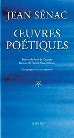 Oeuvres poétiques de Jean Sénac