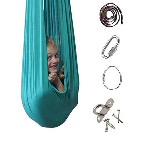 FuncDEme Indoor-Therapie-Swing, sensorischer Swing auf Kind mit besonderen Bedürfnissen, Kuschelhammock,...
