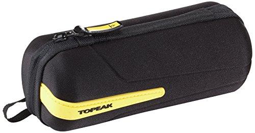 Topeak Werkzeugtasche CagePack, Black/Yellow, 7.4 x 7.4 x 18 cm, 0.75 Liter