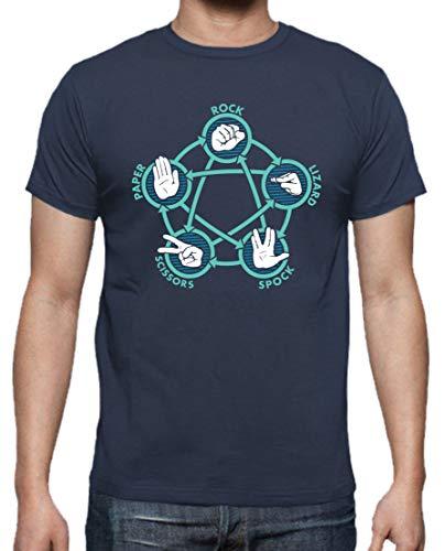 Camiseta de Hombre The Big Bang Theory Sheldon Bazinga Penny Leonard 026 XL