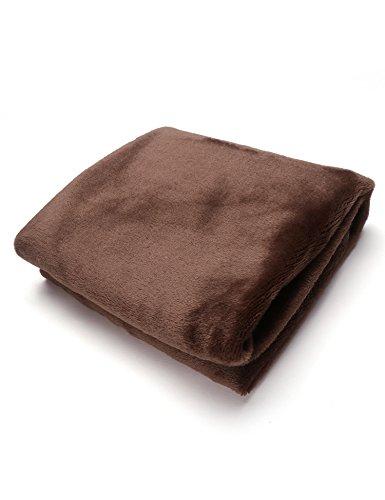 Tiowea warme dikke flanel sofa Throw blankets op bed Home sprei 50X70CM coffee