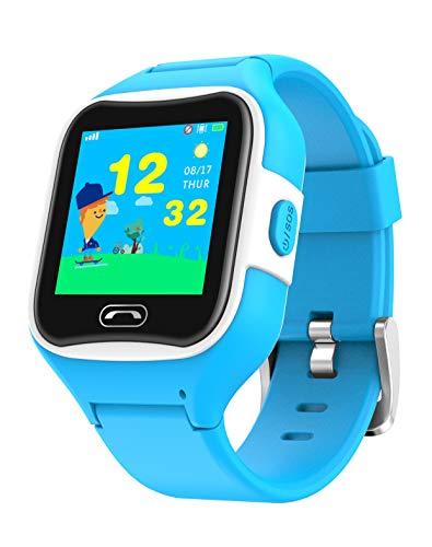 Reloj teléfono y localizador GPS para niños V2 (Azul)