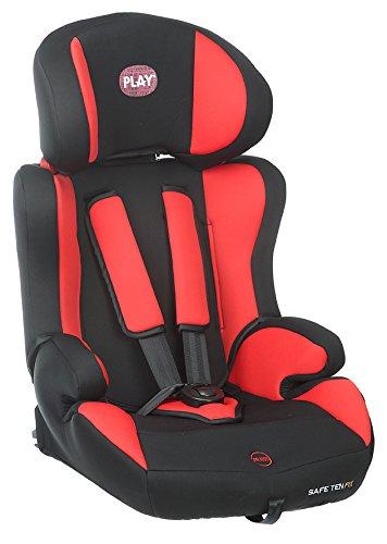 Play Safe Three Plus Silla de coche grupo 2//3 Red Devil rojo