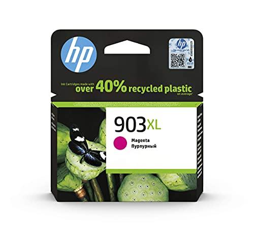 HP 903XL T6M07AE, Magenta, Cartucho de Tinta de Alta Capacidad Original, compatible con impresoras de inyección de tinta HP OfficeJet 6950, 6951, OfficeJet Pro 6960, 6970