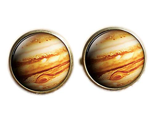 Jupiter Boutons de manchette Manchette, Galaxy, DE L'Espace Universe Boutons de manchette, boutons de manchette