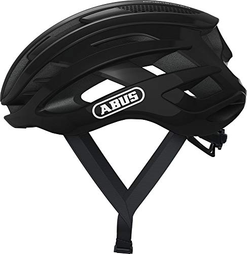 ABUS AirBreaker Helm Shiny Black Kopfumfang L | 58-62cm 2021 Fahrradhelm