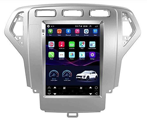 BUSUANZI Navegador GPS, Dispositivo de navegación, navegación GPS Navi 9.7 Pulgadas Pantalla táctil: para Ford Mondeo 2007-2015 con WiFi Bluetooth,4g WiFi 2g+32g
