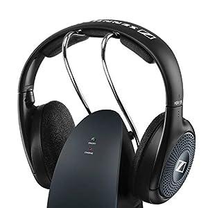 Sennheiser 508678 - RS135-9 Stereo Wireless Audio Headphones, Black