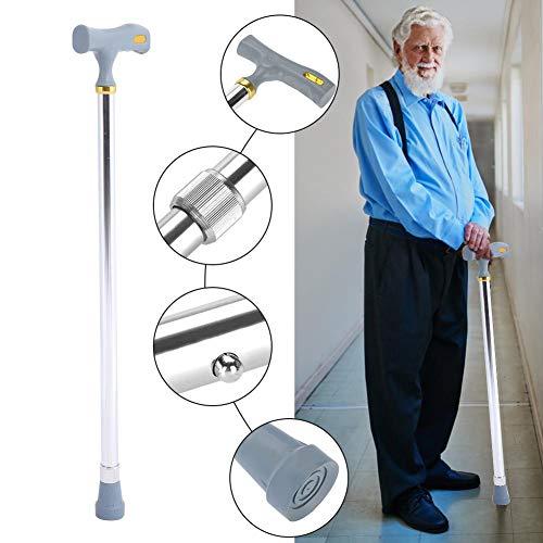 Bastón para hombres y bastones para mujeres Equilibrio especial - Bastón para bastón Tiene 10 alturas ajustables - Bastón plegable autoportante, Bastón plegable(02)
