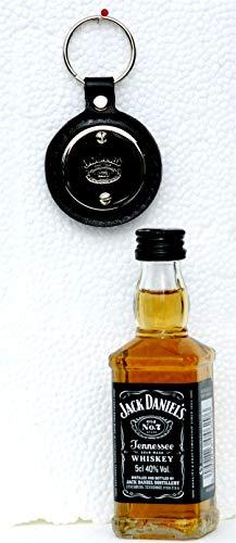 Preisvergleich Produktbild Jack Daniels 0, 05 L Mini + Schlüsselanhänger rund,  SET im Beutel