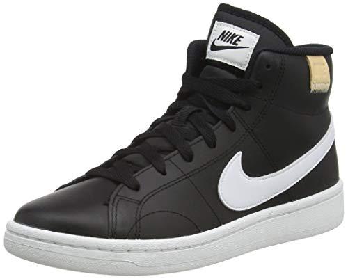 Nike Court Royale 2 Mid, Scarpe da Tennis Donna, Black/White, 37.5 EU