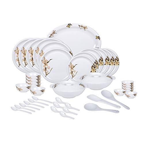 Vama Melamine Deluxe Dinner Set, 44 Pcs (DM21)