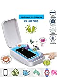 Portable UV Light Cell Phone Sterilizer, Aromatherapy Function Disinfector, Cell Phone Cleaners UV