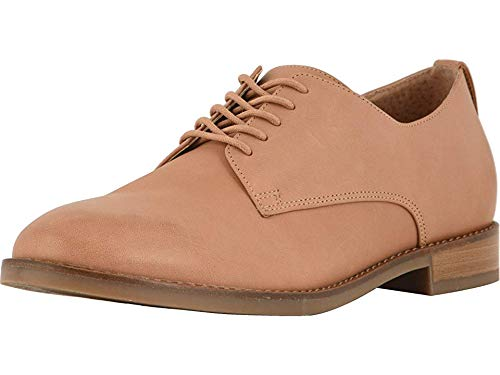 Vionic Women's Wise Weslyn Oxford - Ladies Oxfords with Concealed Orthotic Support Tan 8 M US