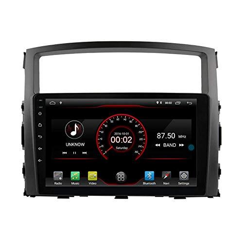9'Android 10 Car DVD Player Radio Head Unit GPS Navi STEREO PARA MITSUBISHI PAJERO IV 2006 2007 2009 2009 2010 2012 2012 2013 2014 2015 2015 2017 Control de volantes Carplay
