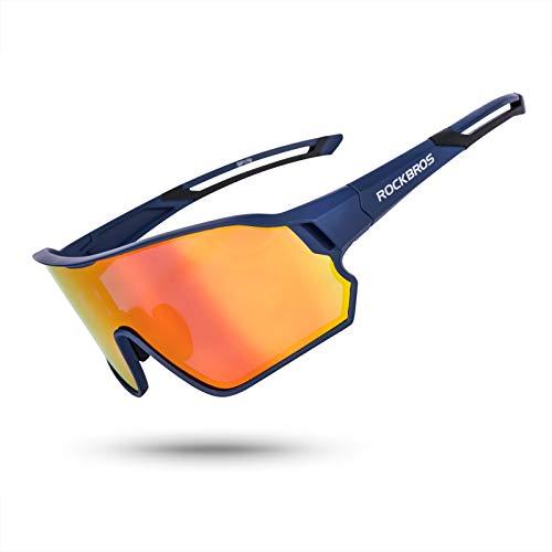 ROCK BROS Polarized Sunglasses UV Protection for Women Men Cycling Sunglasses