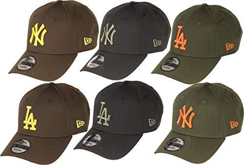 New Era York Yankees 9forty Adjustable Cap Ripstop Edition Olive/Orange - One-Size