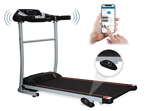 UrbanFit Pro Caminadora Electrica 1.75HP + bocinas + App Bluetooth - Negr