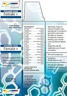 Female + Oral Spray 1 Oz