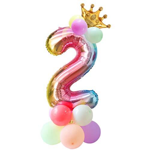 Decoración De Papel Partido Baby Shower Cumpleaños Niña Unicornio Diadema Con Fajín Platos De Papel Tazas Niña 1Er Año Decoración De Fiesta De Cumpleaños Fiesta De Unicornio
