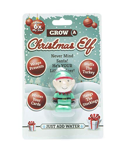 Boxer Gifts Grow a Magical Christmas Elf Toy | Just Add Water | Great Fun for Children | Perfect Kids Stocking Stuffer