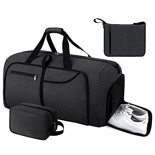 Duffel Bags for Traveling 65L Foldable Overnight Weekender...