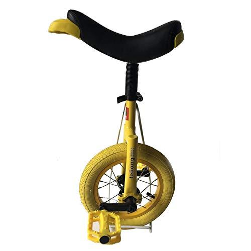 Uniciclo para niños de 12 pulgadas para niños, niñas, rueda a prueba de patines de montaña, para principiantes ejercicio físico, balance de ciclismo con banda de aleación, para altura 70-115cm