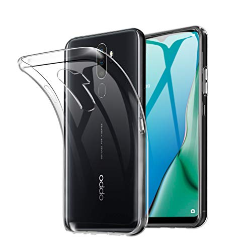 Oppo A5 2020 ケース SHINEZONE Oppo A5 2020ソフトカバー 透明 TPU 耐衝撃 落下防止 防指紋 全面保護カバー(Oppo A5 2020ケース クリア)