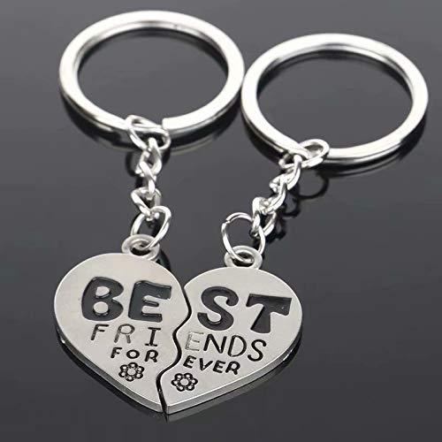 Preisvergleich Produktbild Accessotech Arrow & Ich liebe dich Herz & Schlüssel Paar Schlüsselanhänger Ring Schlüsselanhänger-schlüsselanhänger Liebhaber-geschenk