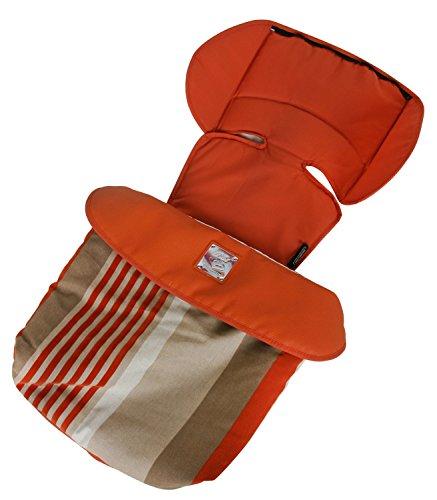 Bebecar Kinderwagen-Fußeinlage, orange