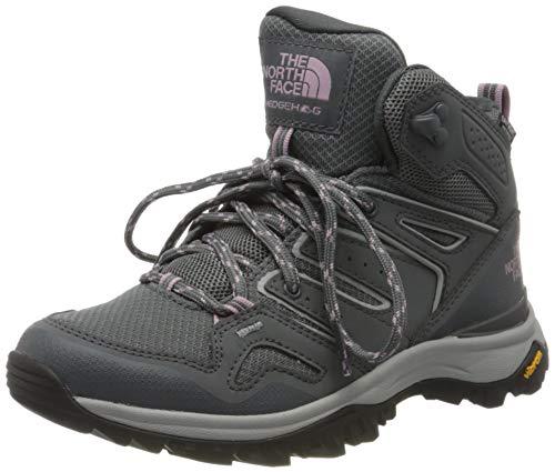The North Face Womens Hedgehog Fastpack II Mid WP, Zapato para Caminar para Mujer, Zinc Grey, 36 EU