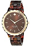 kate spade new york Women's Quartz Watch with Plastic Strap, Brown, 16...