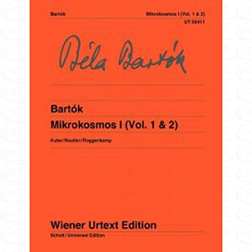 MIKROKOSMOS 1 - arrangiert für Klavier [Noten/Sheetmusic] Komponist : Bartok Bela