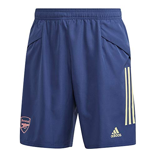 adidas 2020-2021 Arsenal Woven Down Time Shorts (Indigo)