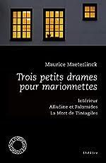 Trois petits drames pour marionnettes - Intérieur ; Alladine et Palomides ; La Mort de Tintagiles de Fabrice Van de Kerckhove