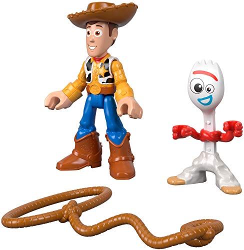 Fisher-Price Disney Pixar Toy Story 4 4, Woody & Forky