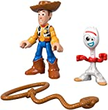 ​Recreate the action of the Disney·Pixar film Toy Story 4! ​Includes 2 figures and an accessory ​Move the figures' arms and legs for more realistic play ​Bring these figures to any Imaginext playset to make the action happen! (Playsets sold separatel...