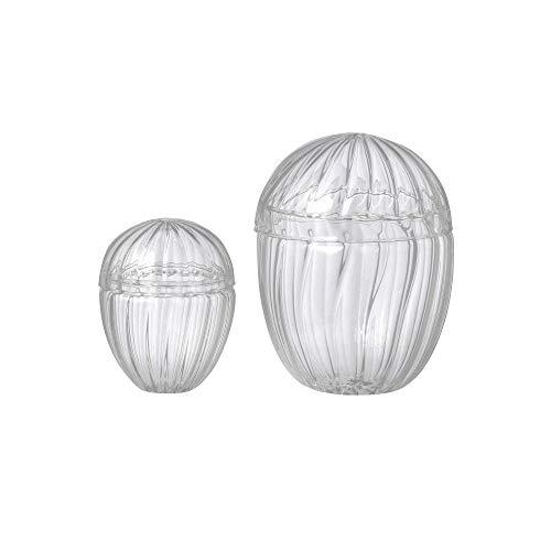Zestaw jaja do osterek szklanych Easter Egg Clear Large- Bomboniera