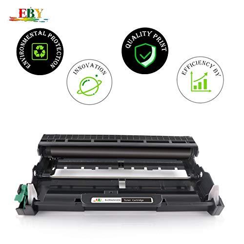 EBY DR2200 DR-2200 Tambor Compatible para Brother HL-2240D HL-2240 HL-2250DN HL-2270DW HL-2130 HL-2132 DCP-7055 DCP-7060 DCP-7060D DCP-7065DN DCP-7070DW MFC-7460DN MFC-7860DW MFC-7360N MFC-7460N