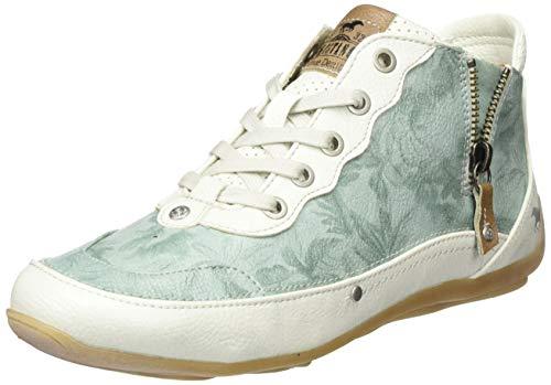 MUSTANG Damen 1306-501-706 Hohe Sneaker, Grün (Mintgrün 706), 36 EU
