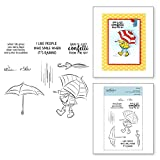 Spellbinders Cute Boots Set from Cardmaker Collection Clear Stamps, Transparent