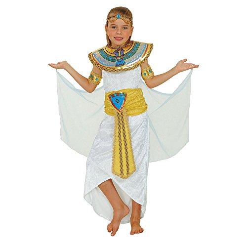 Enfant Cléopâtre costume, grands 8-10 ans. Robe, ceinture et col.