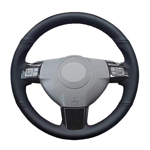 Schwarze Lenkradabdeckung , für Opel Astra (H) Signum Corsa 2004~2009 Zaflra (B) 2005~2014 Vectra (C) 2005~2009