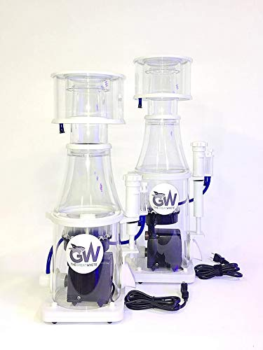Dalua Great White Protein Skimmer GW-10 Ultra Quiet Sturdy Injection Mold Design Italian Eden Pump High Efficiency for Reef Saltwater Aquarium Best Fish and Coral Filtration, in-Sump Design