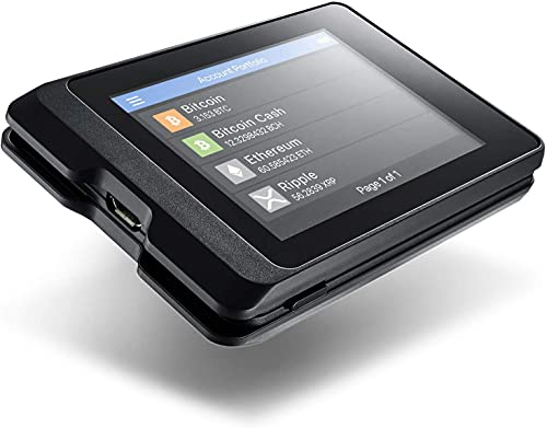 SecuX W10 - La cartera de hardware cripto más segura con pantalla táctil grande