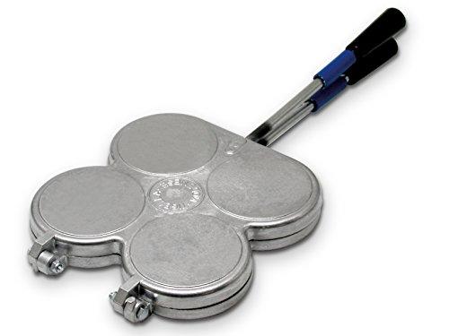 HOME 916000 Stampo per Tigelle Utensili da Cucina, Argento